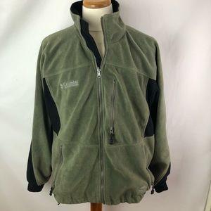 Columbia black green Omnistop Windproof jacket SzL